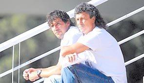 Diego Dabove y Néstor Gorosito