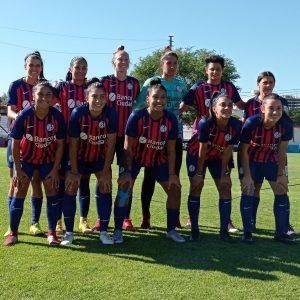 Prueba de jugadoras para el fútbol femenino