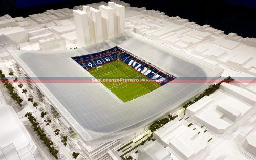Presentación del Proyecto del nuevo estadio en Boedo