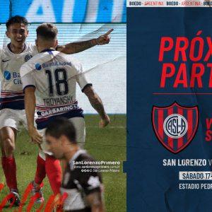 San Lorenzo vs. Argentinos Juniors: hora, TV y formaciones