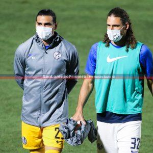 Fabricio Coloccini y Fernando Monetti no se presentaron en San Lorenzo