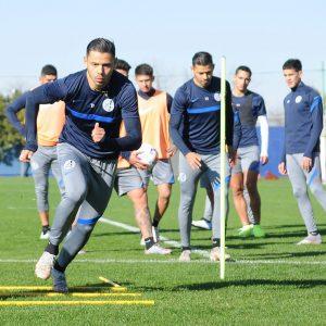 Varios cambios pensando en Boca: Montero probó con los Romero en el once