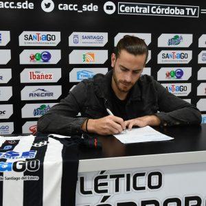 Lucas Melano se convirtió en jugador de Central Córdoba