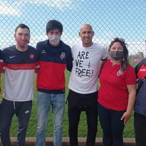 La Peña de Mendoza presenció el debut de Mercier en el club de Torrico